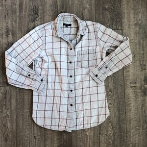 Madewell Windowpane Flannel